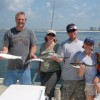 Family Fishing, Gulf Shores, Orange Beach, Al. 2 to 4 hour trolling trips are fun