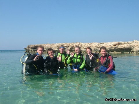 Group Activities - Scuba diving in Ayia Napa, Protaras, Penera