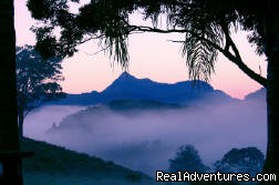 Mt Warning as the sun came up | Image #1/6 | Tweed Coast Hinterland, Australia | Photography | romantic honeymoon destination in Australia