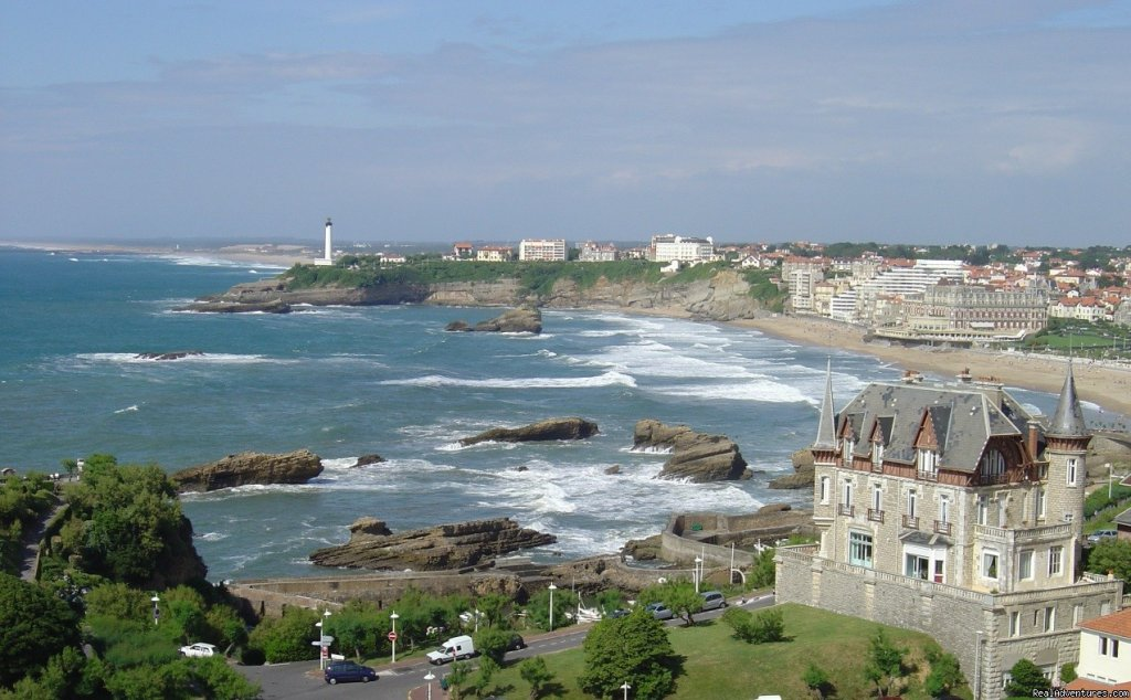 Villa le Goeland and bay of Biarritz | Image #4/7 | Pictures of Biarritz