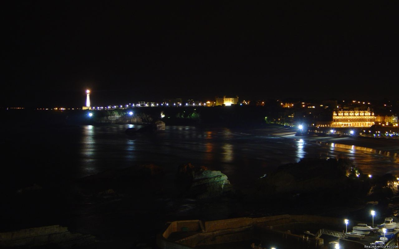 Bay of Biarritz by night | Image #2/7 | Pictures of Biarritz