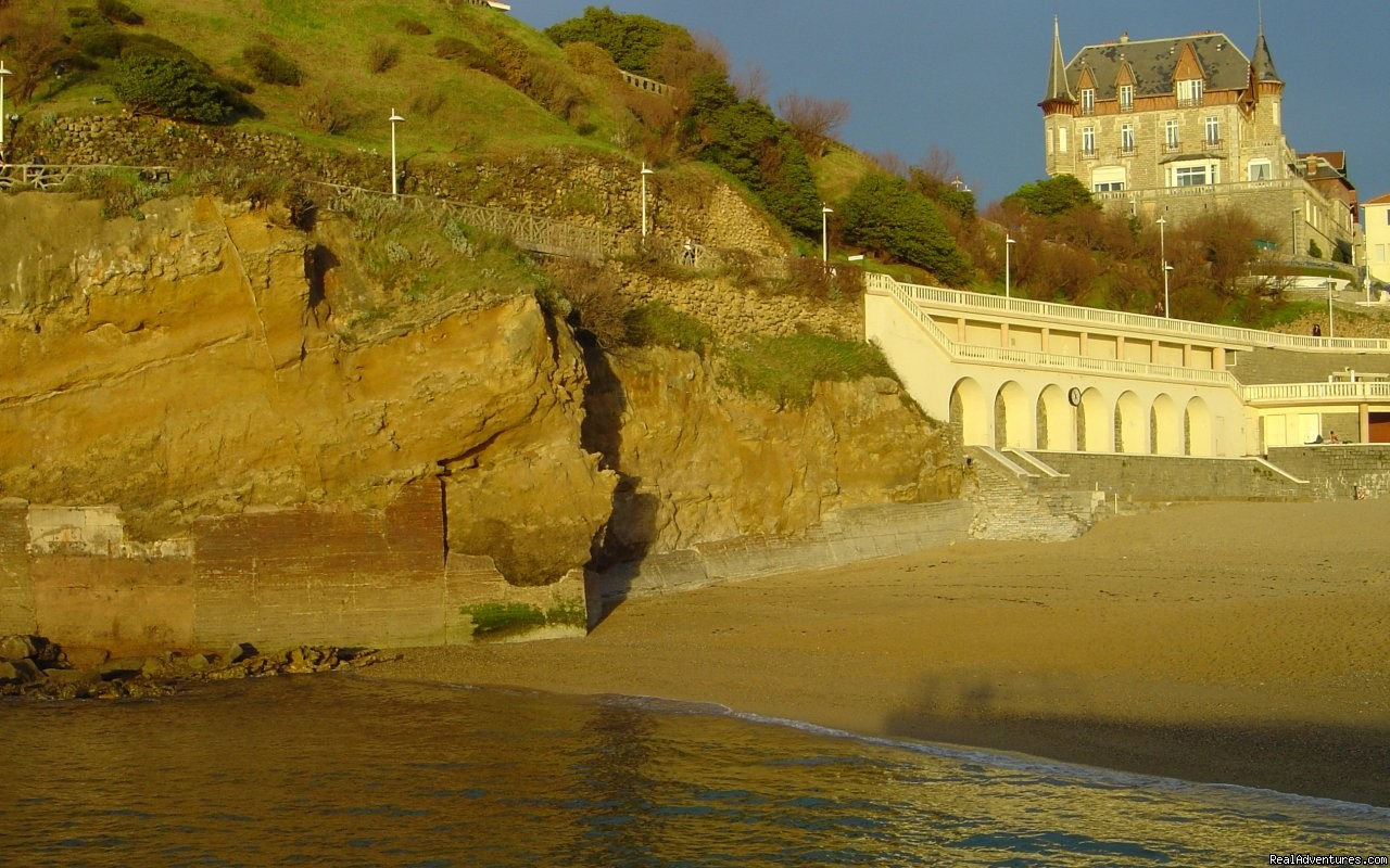 Villa le Goeland up Port vieux beach | Image #5/7 | Pictures of Biarritz