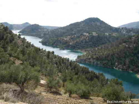 Lake Portillo - Adventure riding holiday Andalucia