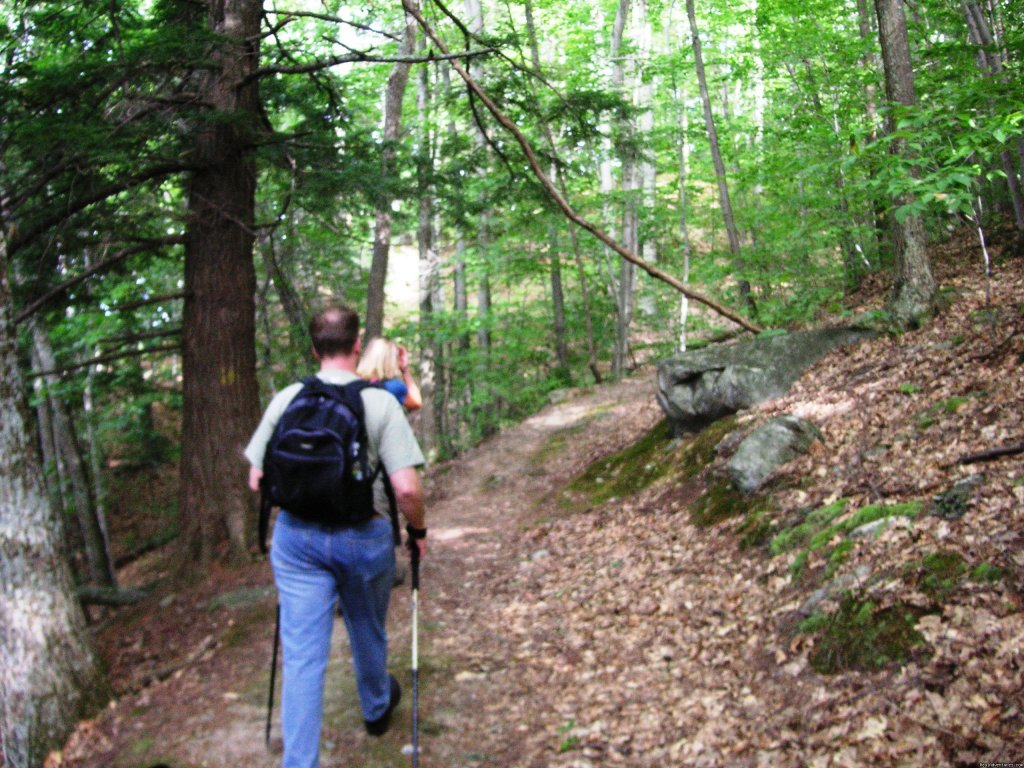 hiking the Long Trail and Appalachian Trail