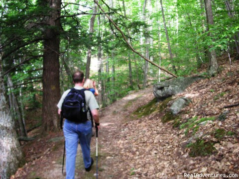 hiking the Long Trail and Appalachian Trail - Hiking Adventures in Vermont