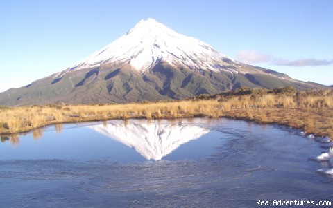 Mt Taranaki  - Guided Climbs And Treks On Mt Taranaki/egmont