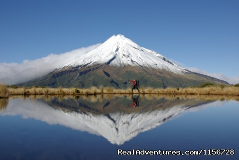 Guided Climbs And Treks On Mt Taranaki/egmont