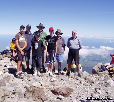 Mt Taranaki summitiers - Guided Climbs And Treks On Mt Taranaki/egmont