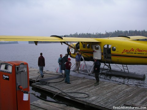 Otter float plane - taking us back (#3 of 11) - Ontario/Quetico Park canoe trip