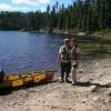 John & Lynn at landing
