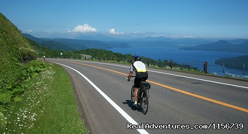 Cycling tours in New Zealand, Vietnam and Japan Hokkaido, Japan