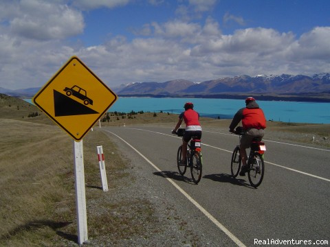 Lake Tekapo - Cycling tours in New Zealand, Vietnam and Japan