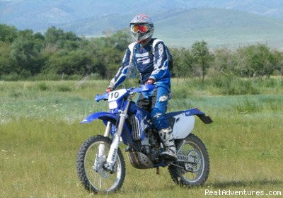 Riding in Bulgan Province, Northern Mongolia - Bike Mongolia - Freedom Unlimited