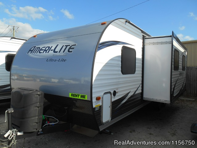 NEW  2015 Ameri-lite travel trailers for rent - Affordable RV Rentals from Coconut RV