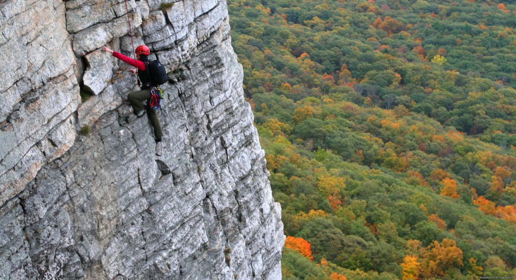 Mountain Skills Climbing Guides- rock/ice climbing New Paltz, New York  Rock Climbing