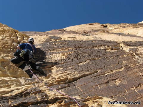 Red Rocks, Nevada - Mountain Skills Climbing Guides- rock/ice climbing