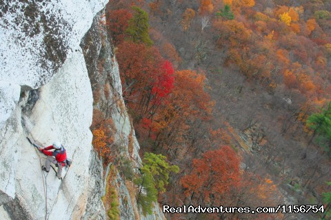 Rock climbing in the Gunks CCK 5.7+ (#3 of 20) - Mountain Skills Climbing Guides- rock/ice climbing