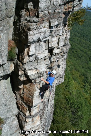 Gunks rock climbing - Mountain Skills Climbing Guides- rock/ice climbing