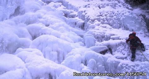 Ice climbing Japanese Falls, Catskills (#18 of 20) - Mountain Skills Climbing Guides- rock/ice climbing