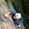 Rock climbing Classic 5.7 Gunks