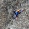 Rock climbing Gelsa 5.4, Gunks
