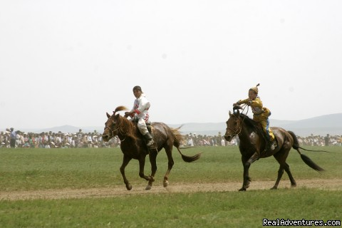 Adventures and treks in Mongolia : Naadam Festival, 11-13 july each year.