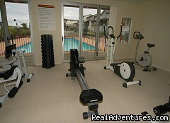 On site Gym - Botany Down Waldorf Furnished Apartments