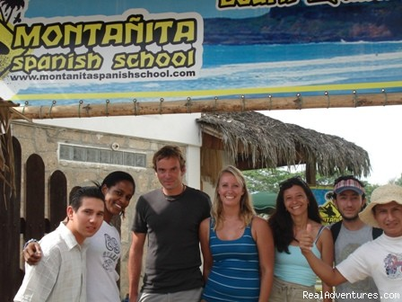Your teachers - Learn Spanish on the Beach, Surf and Scuba Dive