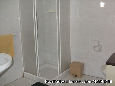 Private bathroom - Budget Getaway  at Sliema Homestay Malta