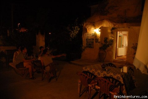 Dinner on Terrace - Dream cave hotel(Holy caves)