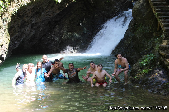 Waterfalls Swim - Adventure Tours