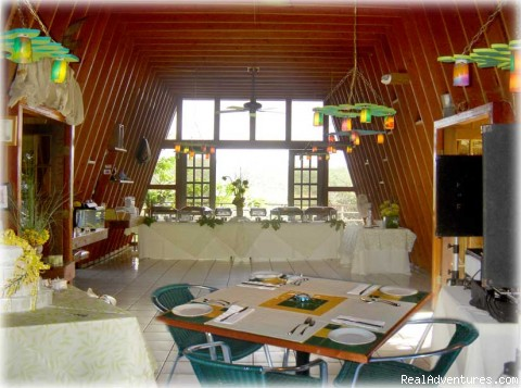 Dinning Room at Juanita Bananas - Juanita Bananas Celebrate Caribbean Island Cookery