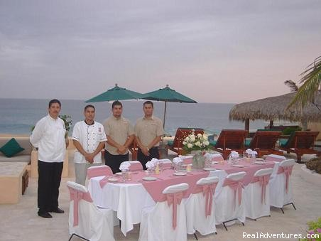 Small wedding at your villa - Chef , butler and Transportation services in Cabo
