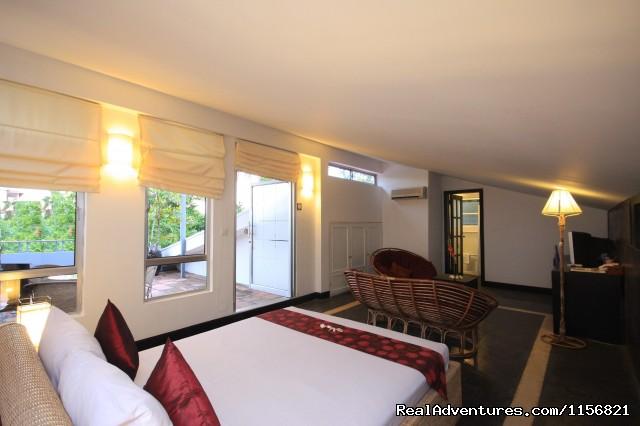 Studio - Frangipani Villa-90s Hotel