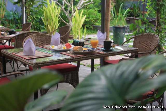 Breakfast (#9 of 10) - Frangipani Villa-90s Hotel