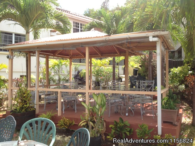 Gazebo - Palm Paradise Guest House + 2 Apartments