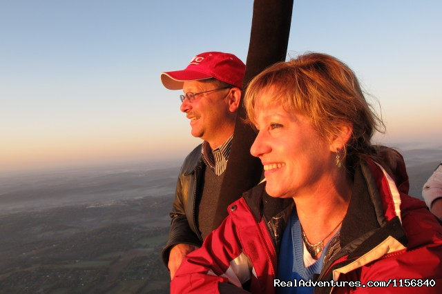 'Romantic Flights' - Sunrise and Sunset Hot Air Balloon Rides