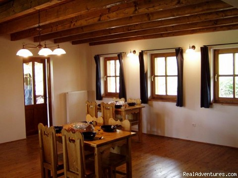 Dining room - breakfast, lunch and dinner included - Fishing & Nature Holiday in Hungary