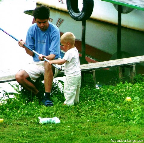 Children are welcome ! - Fishing & Nature Holiday in Hungary