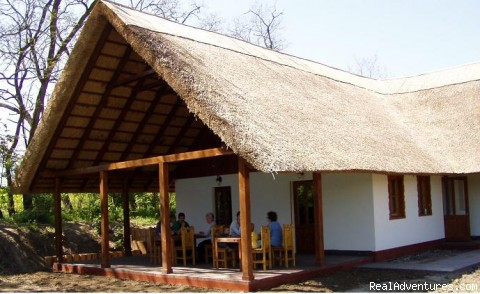 You can relax and enjoy meals on open air - Fishing & Nature Holiday in Hungary