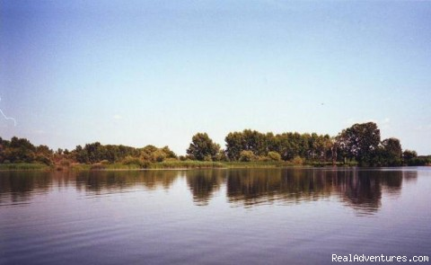 Very nice water areas are available, we offer boats - Fishing & Nature Holiday in Hungary