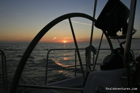 Sunset - Delphia Charters on Lake Ontario