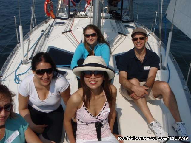 Another fun event - Delphia Charters on Lake Ontario