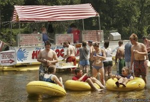 Delaware River Tubing and Jet Boat Tours Tubing Milford, New Jersey