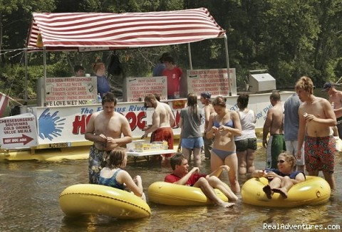 Delaware River Tubing and Jet Boat Tours