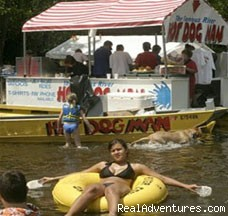 Floating By... - Delaware River Tubing and Jet Boat Tours