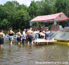 The Famous River Hot Dog Man - Delaware River Tubing and Jet Boat Tours
