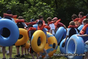Groups are welcome - Delaware River Tubing and Jet Boat Tours