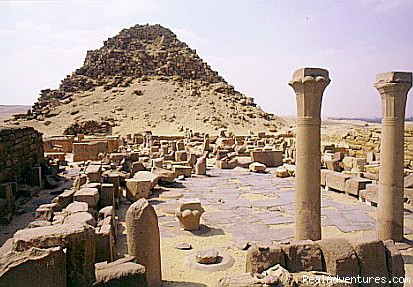 Abu Sir Temple - Egypt Horse  and Dune Buggies Tours