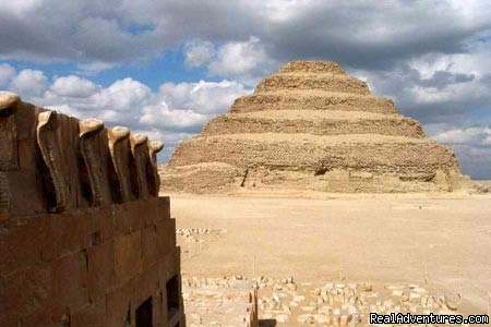 step pyramids and ruins - Egypt Horse  and Dune Buggies Tours
